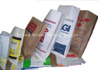Kraft Paper Plastic Composite Bag For Sodium Humate , Drugs And Feed Additives Packaging