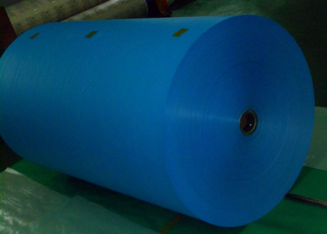 75GSM Colorful Virgin PP Woven Fabric Rolls For Making Feed / Seed Packing Bag