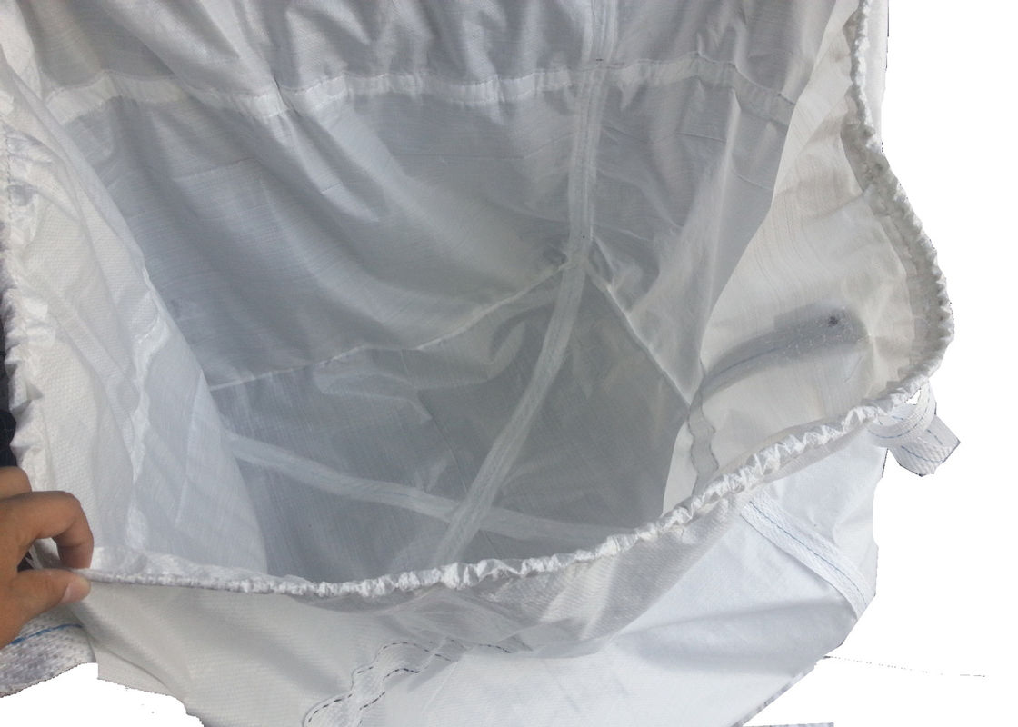 500KG PP Woven Industrial Bulk Bags For Cement / Building Material Packing