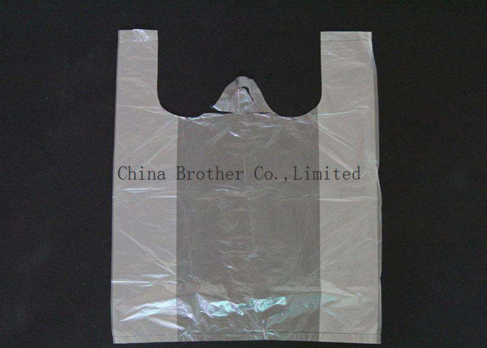Laminated PE Colored Plastic Bags Waterproof For Retail Stores / Supermarket