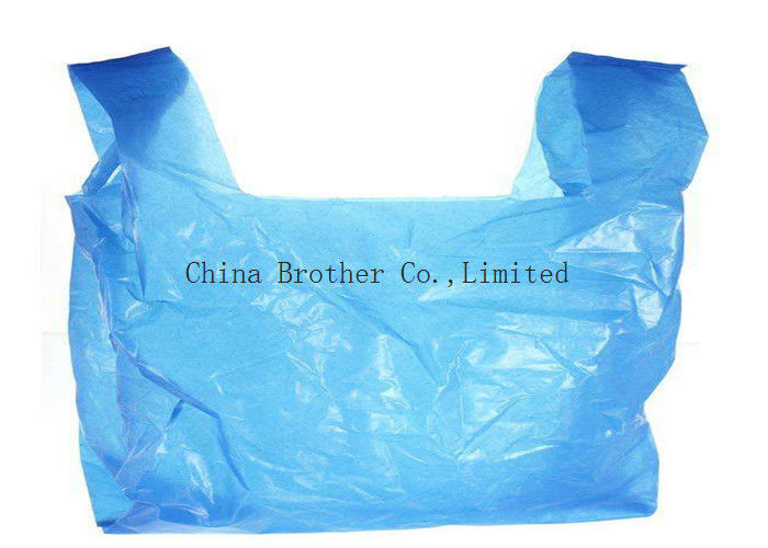 Colorful Retail Merchandise Custom Printed Plastic Shopping Bags Heavy Duty