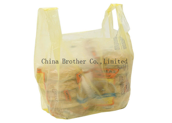 LDPE / HDPE Personalized Retail Bags Die Cut Handle With Custom Printing